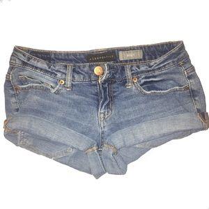 Mid Rise Aeropostale Jean Shorts 2/26